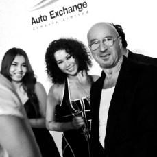 Mikel Rosen with guests at Kokon to Zai...KTZ