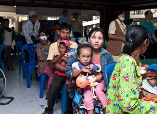 Screening day for Operation Smile