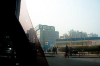 Visit to IKEA, Shanghai 2011.