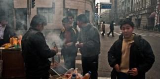 Street-eatery Shanghai