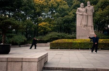 Tai Chi Chuan in Fuxing Park, Shanghai