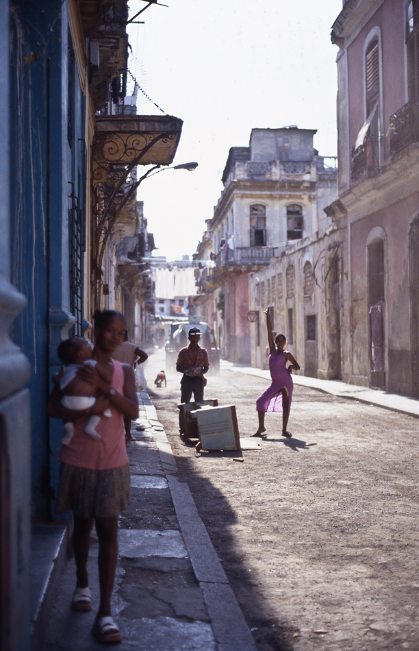 People and streets of Havana, Cuba
