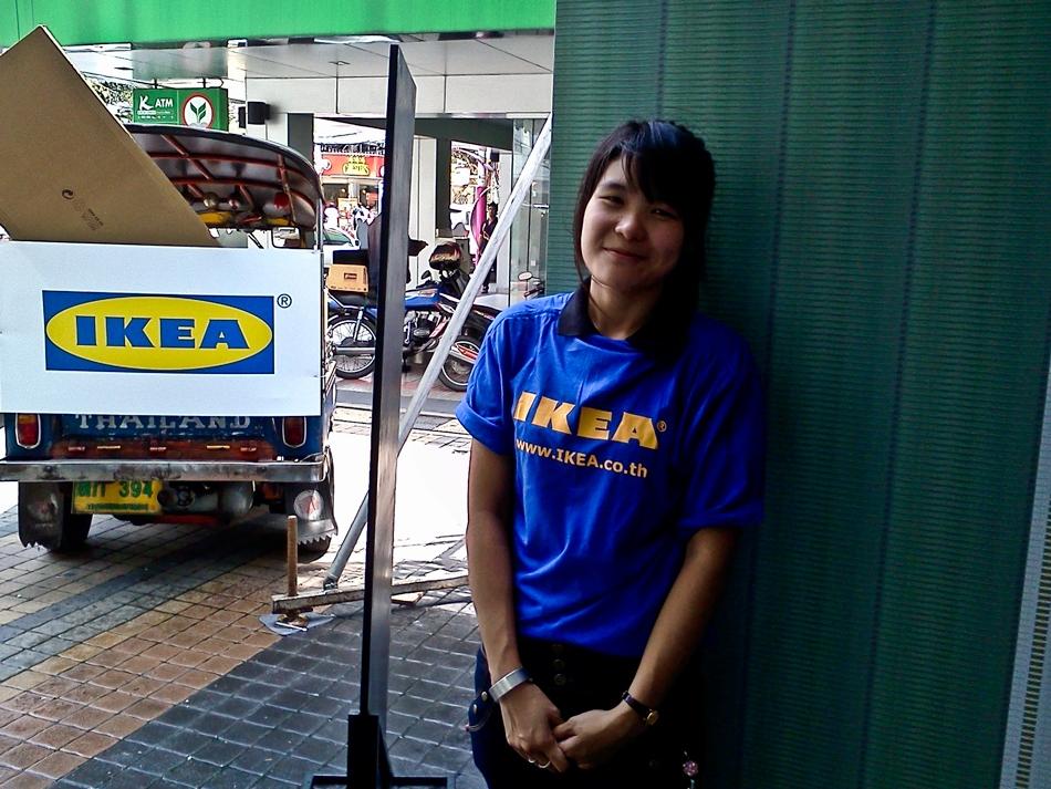 IKEA Catalogue Launch, Siam Square, Bangkok, Thailand 2011