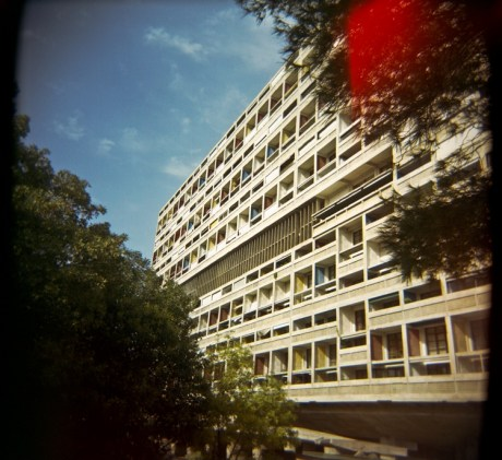 La Cité Radieuse, Marseille, France. Le Corbusier