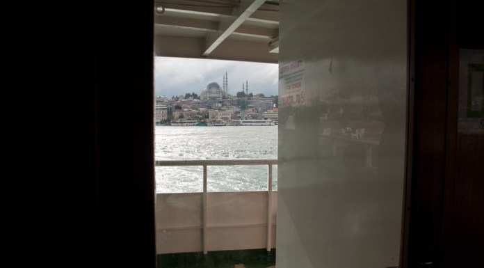Istanbul the ferry