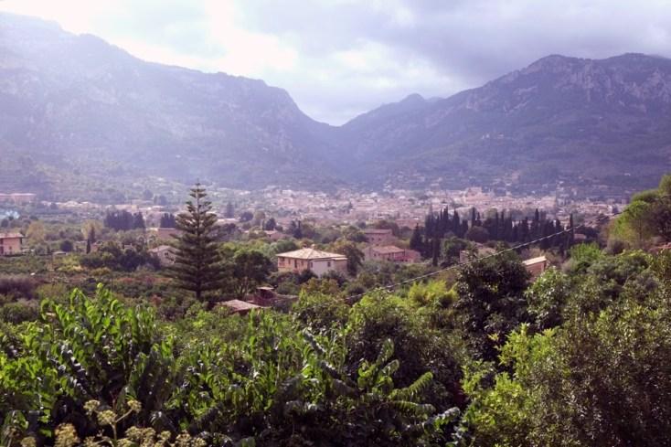 View from Biniabassi, Mallorca.
