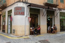 Bar Flexas in Palma, Mallorca.