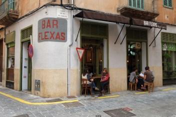 Bar Flexas in Palma, Mallorca.