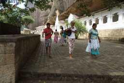 The Cave temple in Dambulla