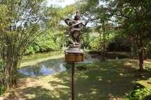 Dancing Shiva at The Estate of Lunuganga