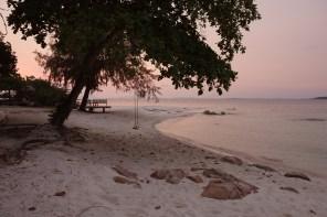 Koh Munnork, sunset at the beach