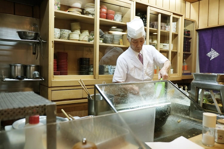Best tempura in Tokyo