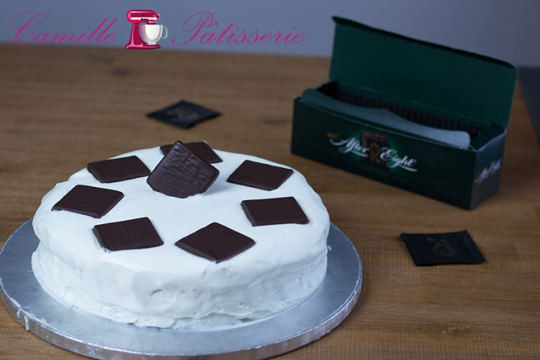 Gateau after-eight