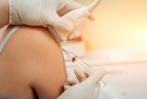 Ultrasound-guided platelet-rich plasma injection of the shoulder