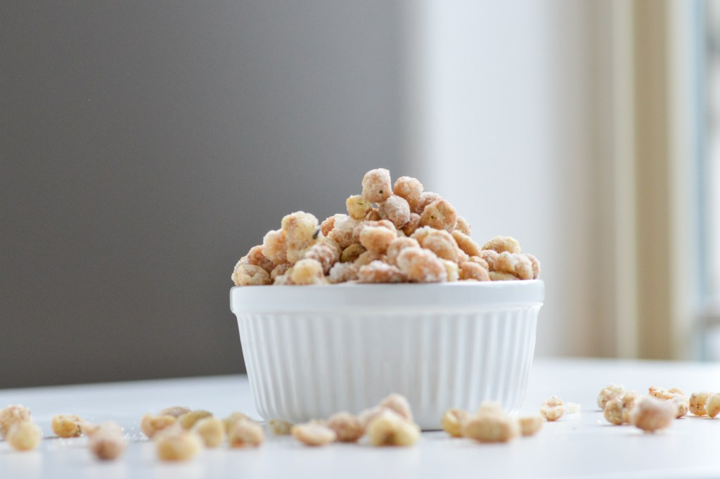 Candied Peanuts with Furikake