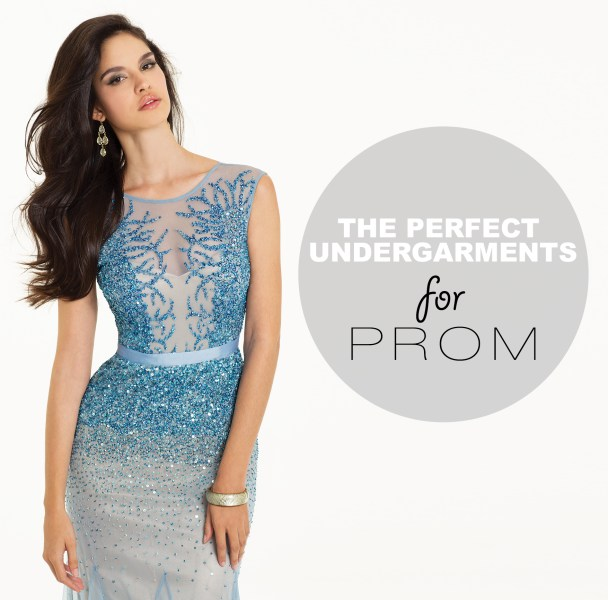 the ideal undergarments to fit your perfect prom dress   Camille La Vie perfect undergarments for your prom dress
