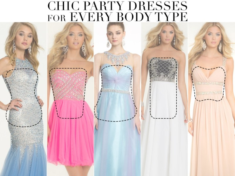 Prom Dresses and Party Styles for Different Body Types   Camille La Vie Prom Dress Styles for Your Body Type