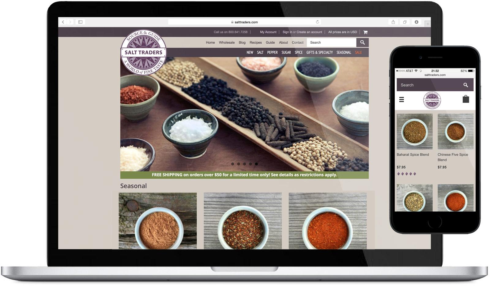 Salt Traders Website