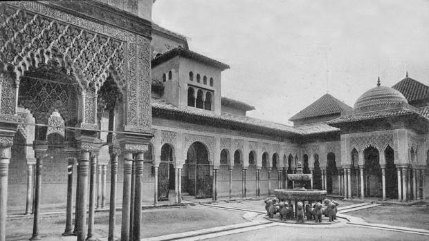 Alhambra en 1896