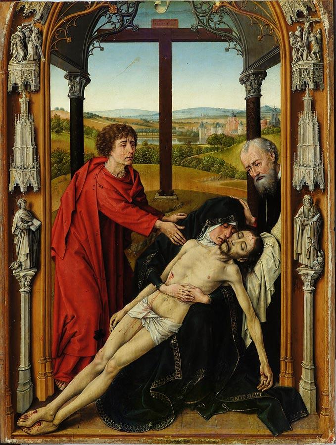 Piedad. Rogier Van der Weyden