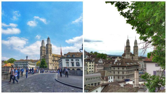 Iglesia Grossmünster. Que ver en Zurich