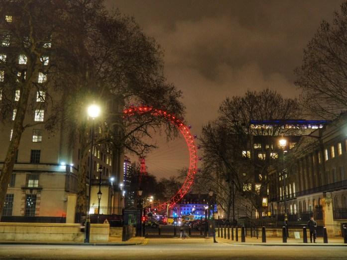 Ojo de Londres. Ruta dos días