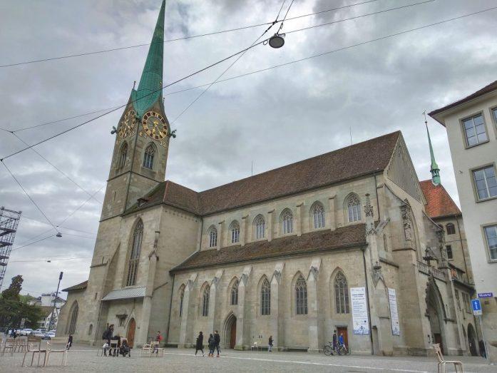 Iglesia de Fraumünster. Que ver en Zurich