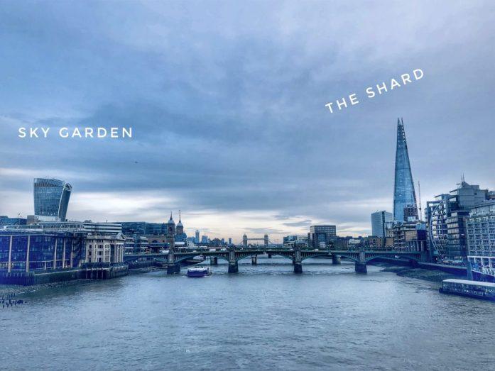 Sky Garden & The Shard. Ruta en Londres de dos días