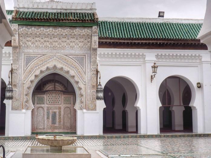 Que ver en Fez. Universidad de Qarawiyyin