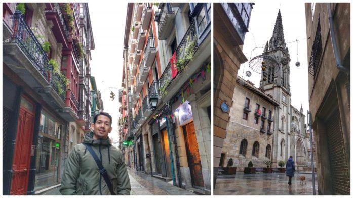 Pais Vasco ruta en coche en tres días. Casco Viejo Bilbao
