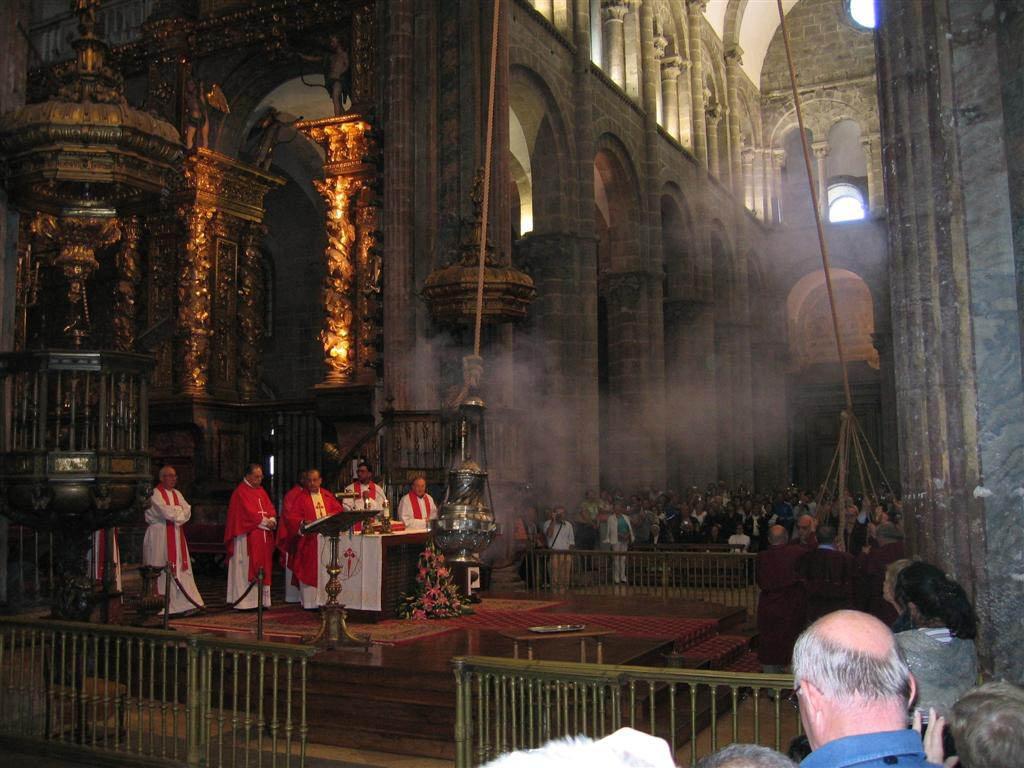 Santiago Cathedral Botafumeiro