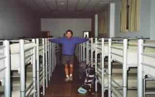 leslie in albergue