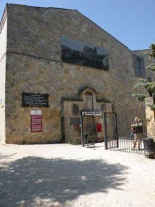wine fountain at Monasterio Irache
