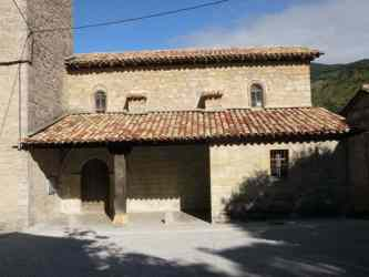 Larrasoana - Cizur Minor 10 church detail