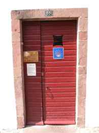 St. Jean PP 10 albergue door