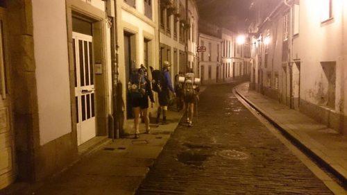 leaving santiago
