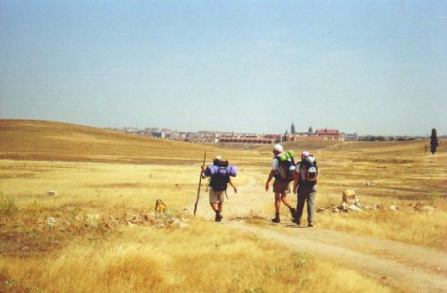 open roads on the longest camino