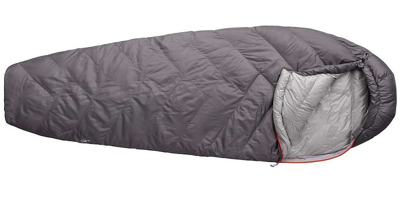 Mountain Hardware Ratio 45 Men's Grey sleeping bag