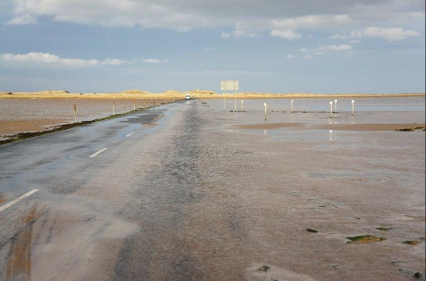St Cuthbert causeway