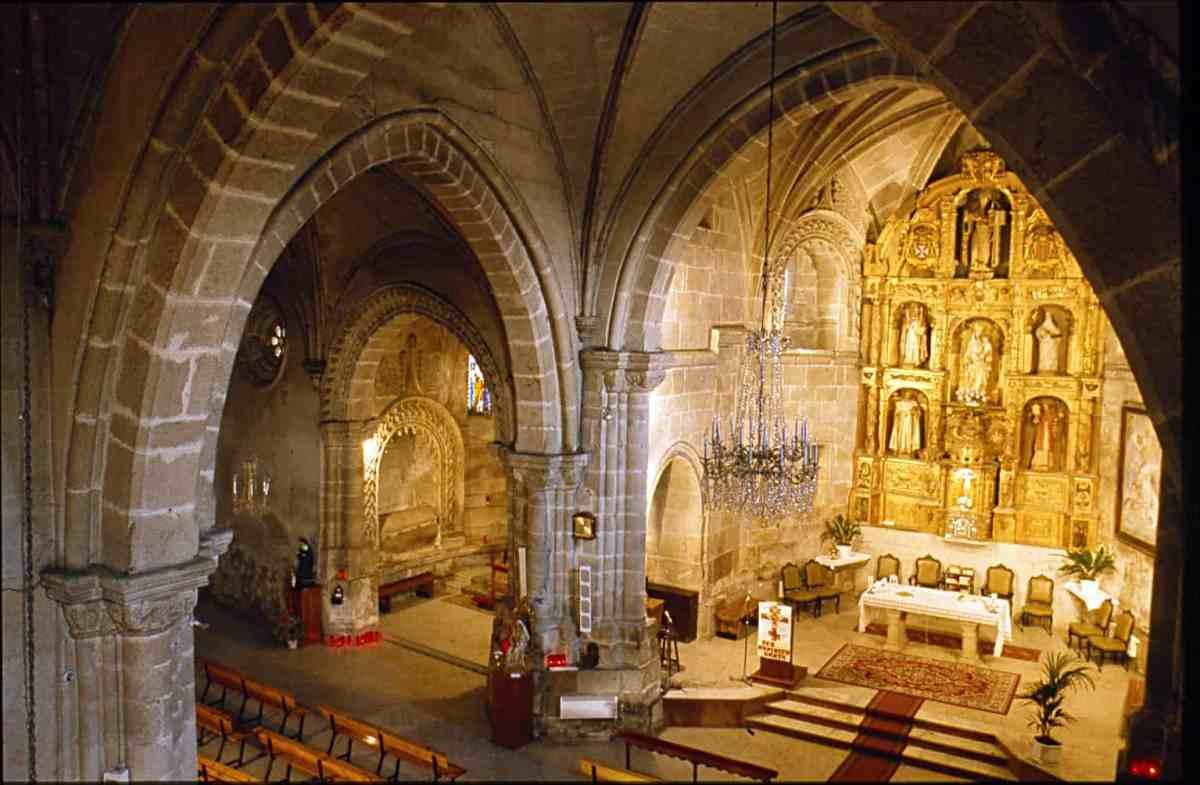 Church of the Monastery of La Magdalena de Sarria