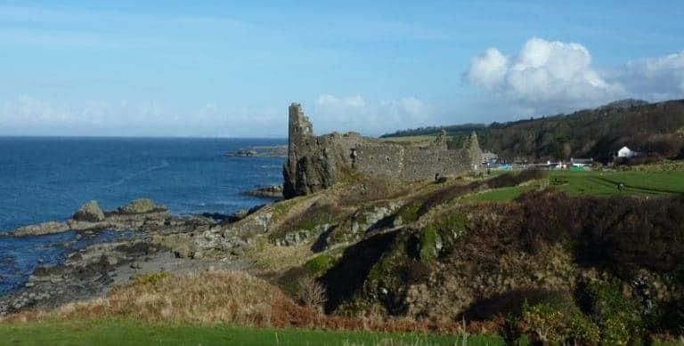 Coastal path in Scotland