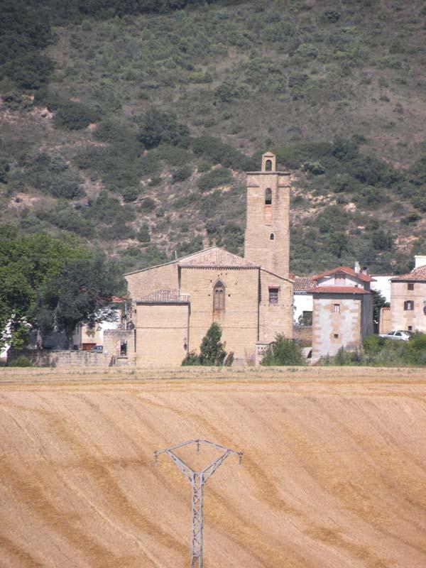 Landscape in Spain on Camino