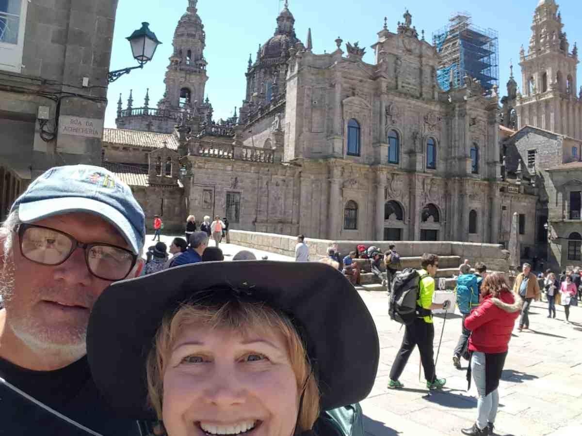 Arriving in Santiago
