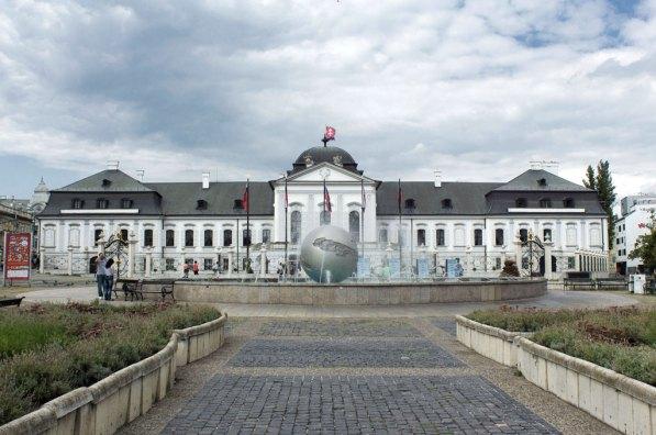 Qué ver en Bratislava: Grassalkovich Palace Fuente: Visit Bratislava