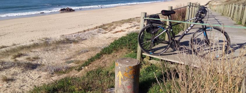 Camino Portugués por la Costa en bici