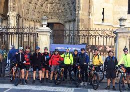 Camino Francés organizado en bicicleta