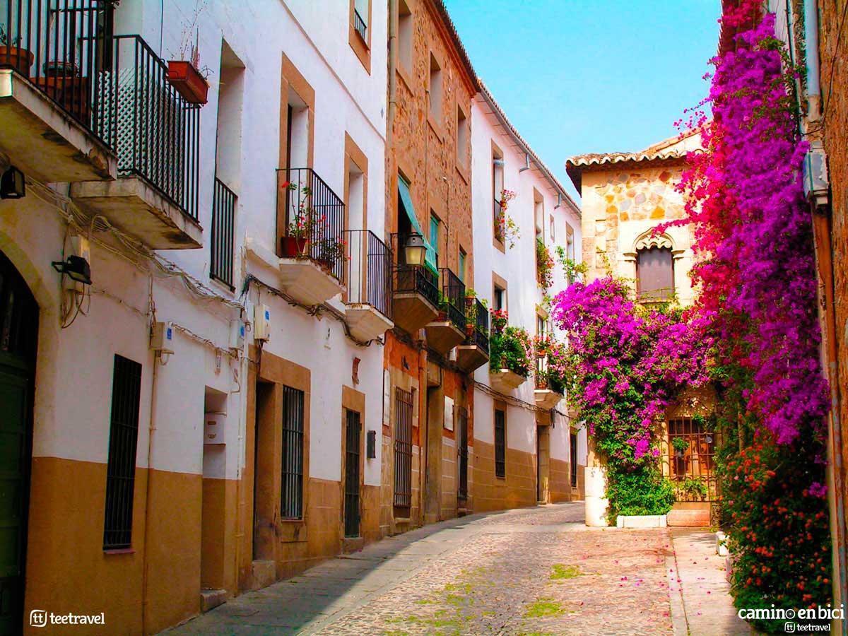 Vía de la Plata - Casco Histórico de Cáceres