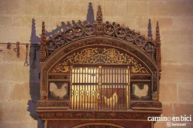 Gallo y Gallina en la Catedral del Salvador de Santo Domingo de la Calzada