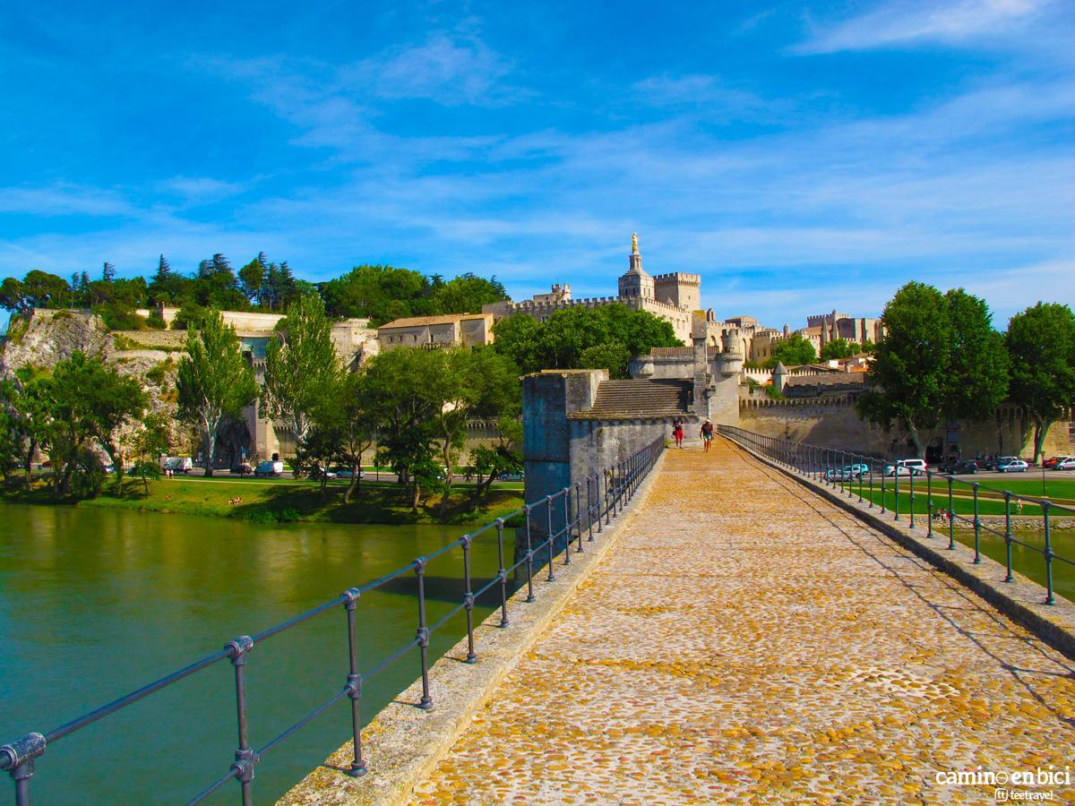 Pont d'Avignon - Puente de Aviñón - Provenza Francesa