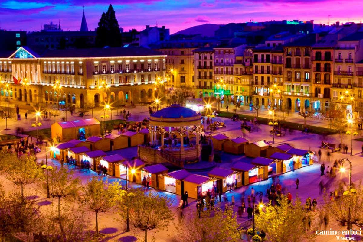 Navarra - Pamplona - Plaza del Castillo
